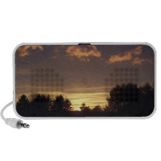 Sunset Doodle Mp3 Speakers