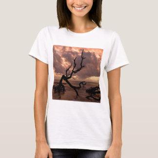 Sunset Driftwood Beach T-Shirt