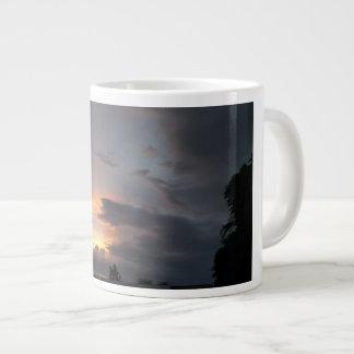 Sunset during Monsoon Season Large Coffee Mug