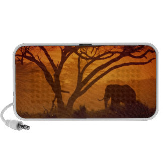 Sunset Elephant Speaker