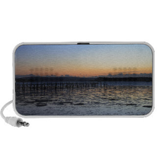 Sunset Evening Hill iPhone Speakers