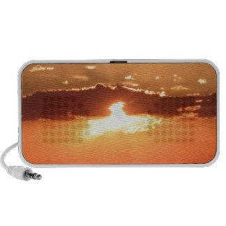 Sunset Fire Travelling Speaker