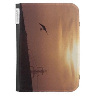 'Sunset Flight' Kindle Case