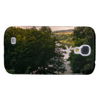 Sunset Forest Lake Landscape Photograph Galaxy S4 Case