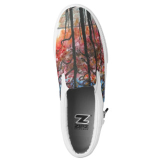 Sunset Forest Slip on Shoes