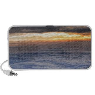 Sunset from the Sky Portable Speaker
