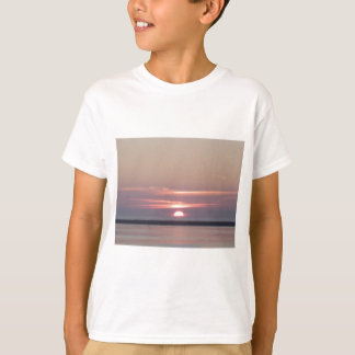 sunset Humboldt Bay Eureka California by Gregory V T-Shirt