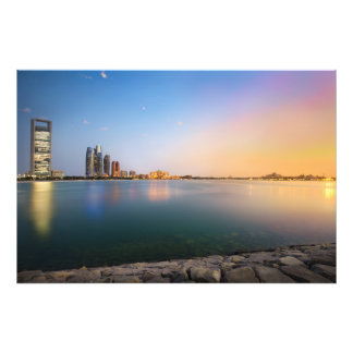 Sunset in Abu Dhabi Art Photo