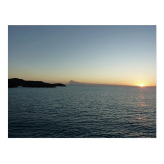 Sunset in Antigua II Seascape Photography Postcard