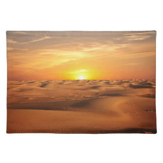 Sunset in Desert Placemat