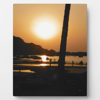 Sunset in Goa Photo Plaques