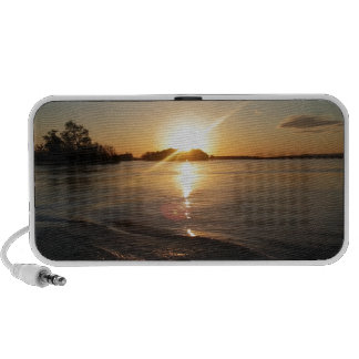 Sunset in Heaven Portable Speakers