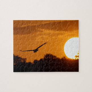 Sunset in the Everglades Jigsaw Puzzle