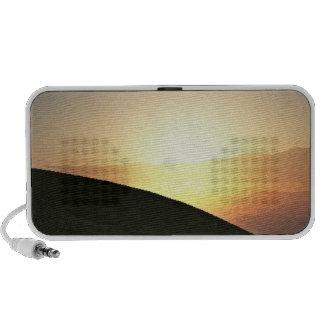 Sunset in the Mountains Customizable Speaker