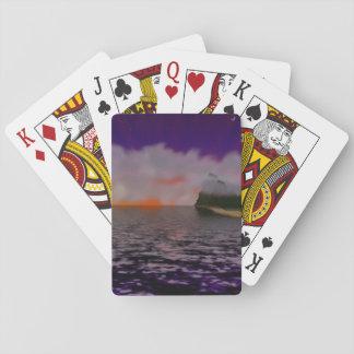 Sunset Island Playing Cards