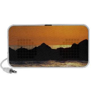 Sunset moment_ travelling speaker