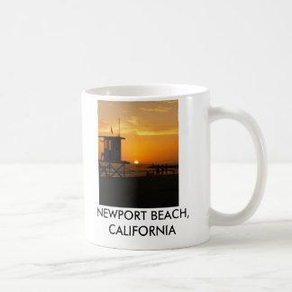 Sunset, NEWPORT BEACH, CALIFORNIA Coffee Mug