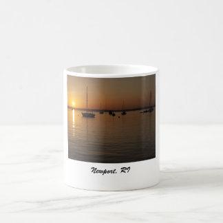 Sunset Newport Harbor, Newport, RI Coffee Mug