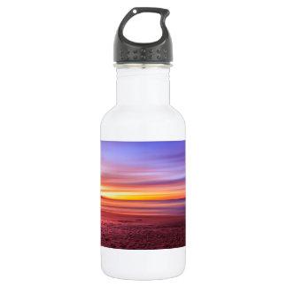 Sunset On Beach 532 Ml Water Bottle
