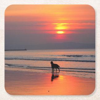 Sunset on the Irish Sea Coasters