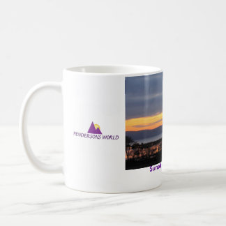 Sunset over Uig Bay Coffee Mug