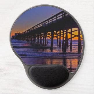 Sunset Pier Gel Mouse Pad
