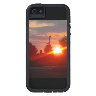 Sunset protective iphone5 case