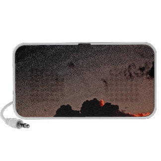 Sunset Red Laptop Speakers