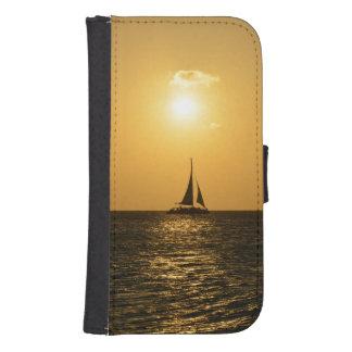 Sunset Sail Samsung S4 Wallet Case