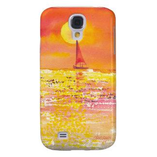Sunset sailboat I Galaxy S4 Case