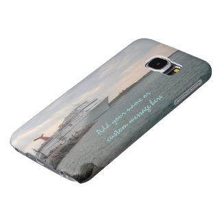 Sunset Sailing Personalized Samsung Galaxy S6 Cases