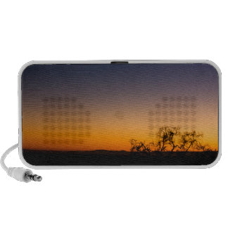 Sunset Silhouette Portable Speakers