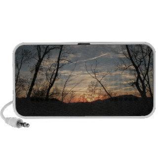 Sunset Silhouette Speaker