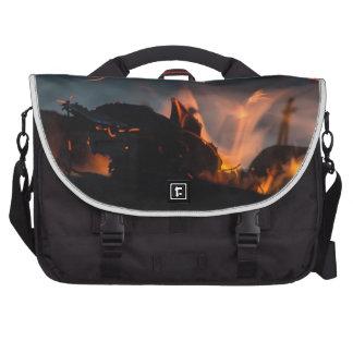 Sunset sparks laptop computer bag