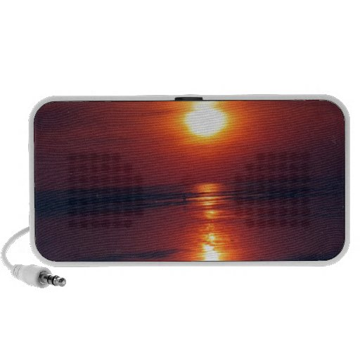Sunset iPod Speakers