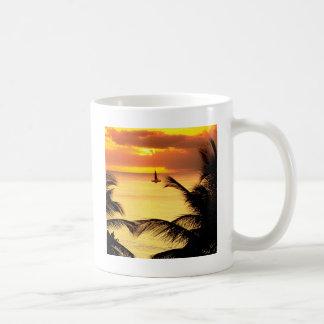 Sunset St Lucia Coffee Mug