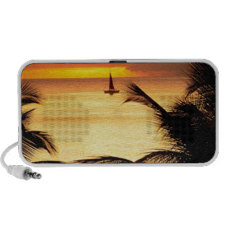 Sunset St Lucia Travelling Speakers