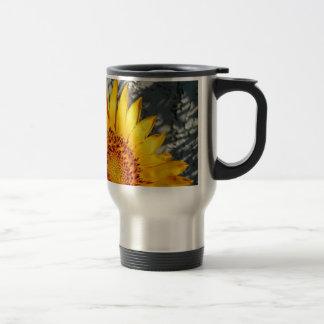 Sunset Sunflower Travel Mug