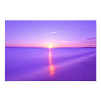 Sunset to the East China Sea Photo Print