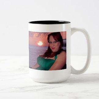 Sunset Two Tone Mug