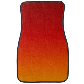 SUNSET (yellow orange evening color fade) ~ Car Mat