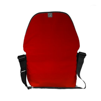 SUNSET (yellow orange evening color fade) ~ Courier Bag