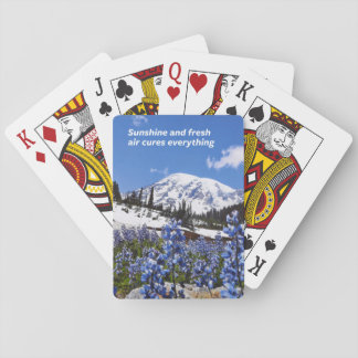 Sunshine and Fresh Air Playing Cards