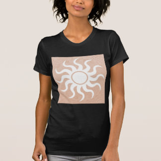 SUNSHINE and Jewels on Golden Embossed Foil Tee Shirts