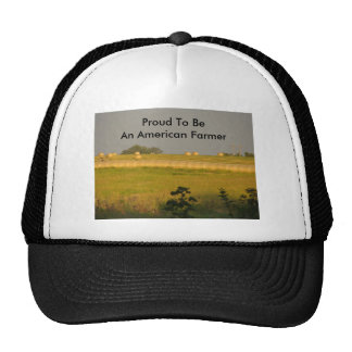 Sunshine Hayfield, Proud To Be An American Farmer Cap