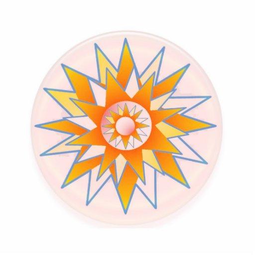 Sunshine High Energy   C H A K R A Acrylic Cut Out