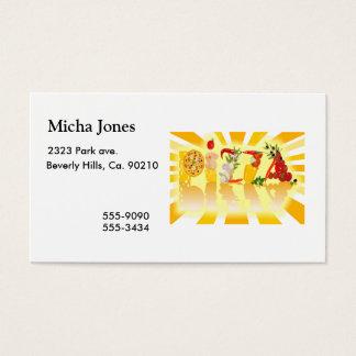 Sunshine Pizza Business Card