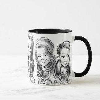 SUNY Binghamton Caricature Mug 12b