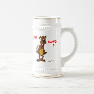 'SUP DAWG? Doggy Stein Mug