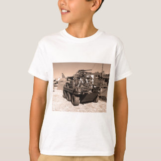 Supacat. The  all terrain six wheeled army vehicle T-Shirt